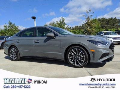 new 2021 Hyundai Sonata car, priced at $31,920