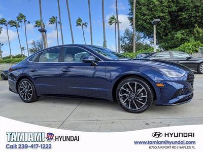 new 2021 Hyundai Sonata car, priced at $31,931