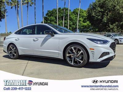 new 2021 Hyundai Sonata car, priced at $30,274