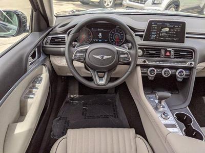 new 2021 Genesis G70 car