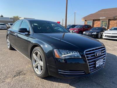 used 2013 Audi A8 car, priced at $28,900
