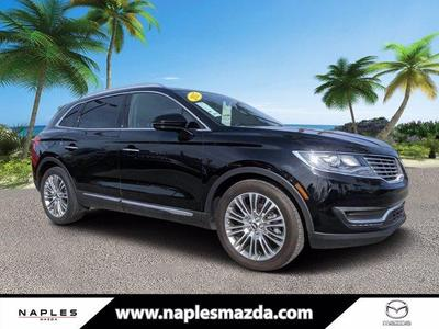used 2017 Lincoln MKX car, priced at $27,115