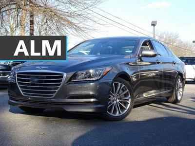 used 2017 Genesis G80 car, priced at $23,499