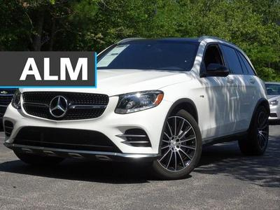 used 2017 Mercedes-Benz AMG GLC 43 car, priced at $39,488