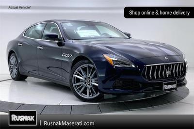 new 2021 Maserati Quattroporte car, priced at $114,299