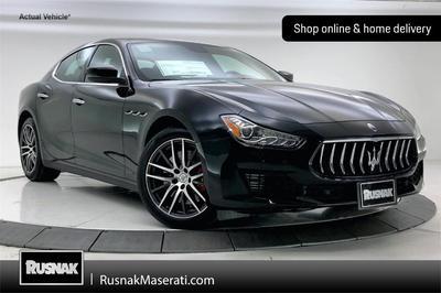new 2021 Maserati Ghibli car, priced at $80,085