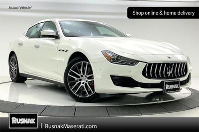 new 2021 Maserati Ghibli car, priced at $78,485