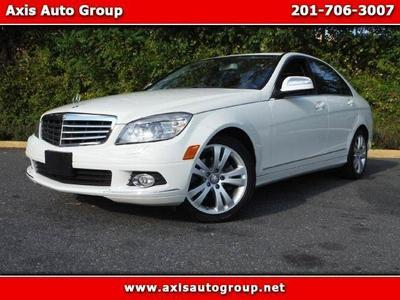 used 2008 Mercedes-Benz C-Class car, priced at $15,900