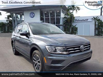new 2021 Volkswagen Tiguan car, priced at $24,610