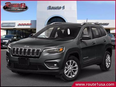 new 2021 Jeep Cherokee car, priced at $32,555