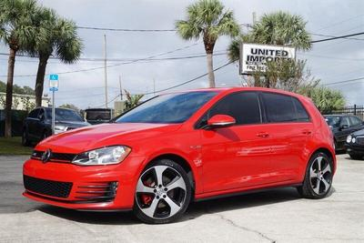 used 2017 Volkswagen Golf GTI car, priced at $16,980