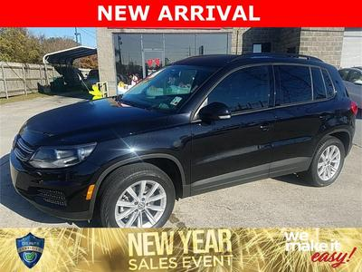 used 2017 Volkswagen Tiguan Limited car, priced at $14,071