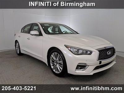 new 2021 INFINITI Q50 car, priced at $44,735