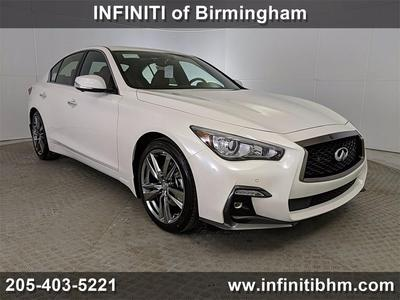 new 2021 INFINITI Q50 car, priced at $51,410