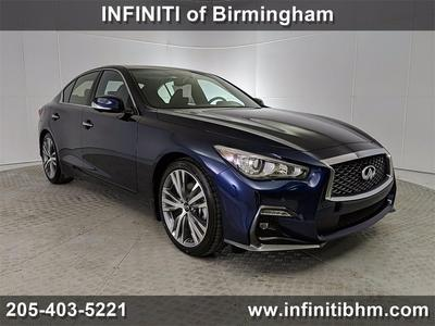 new 2021 INFINITI Q50 car, priced at $51,135
