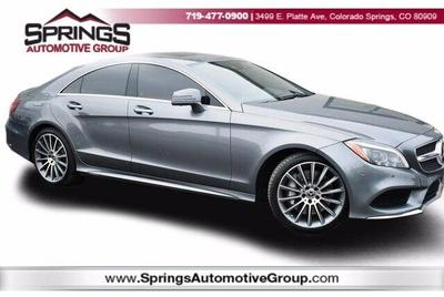 used 2017 Mercedes-Benz CLS 550 car, priced at $46,999