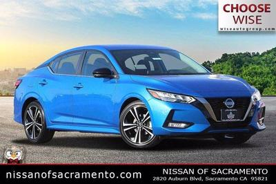 new 2021 Nissan Sentra car, priced at $21,344