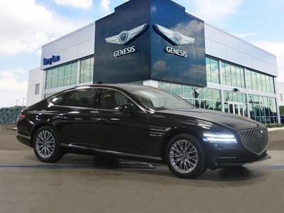 new 2021 Genesis G80 car, priced at $52,555