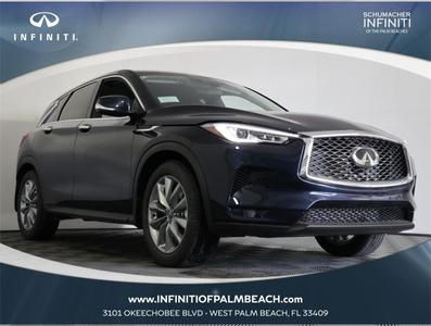 new 2021 INFINITI QX50 car, priced at $41,200