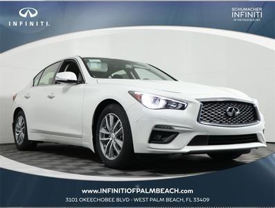 new 2021 INFINITI Q50 car, priced at $38,345
