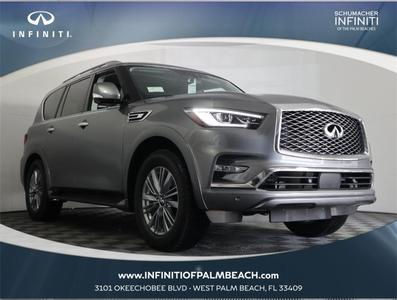 new 2021 INFINITI QX80 car, priced at $71,505