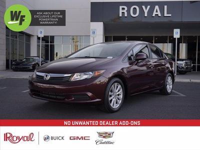 used 2012 Honda Civic car, priced at $11,220