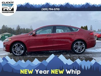 used 2019 Ford Fusion car, priced at $19,680