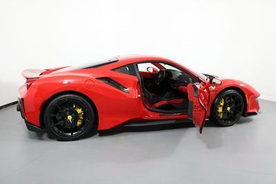used 2019 Ferrari 488 Pista car, priced at $479,000