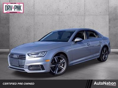 used 2018 Audi A4 car, priced at $26,497