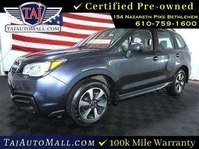 used 2018 Subaru Forester car, priced at $17,333