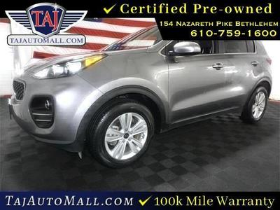 used 2017 Kia Sportage car, priced at $16,111