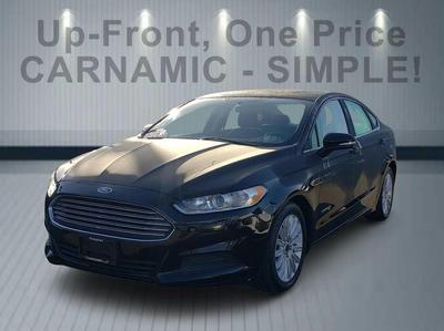 used 2016 Ford Fusion Hybrid car, priced at $14,999