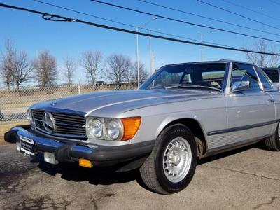 used 1981 Mercedes-Benz 380SL car, priced at $13,900