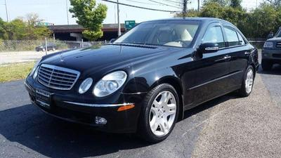 used 2003 Mercedes-Benz E-Class car, priced at $6,800