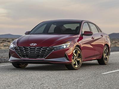 new 2021 Hyundai Elantra car, priced at $24,740
