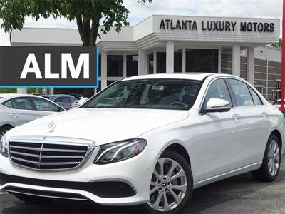 used 2020 Mercedes-Benz E-Class car, priced at $48,288