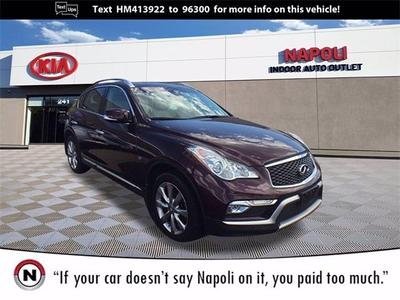 used 2017 INFINITI QX50 car, priced at $22,944