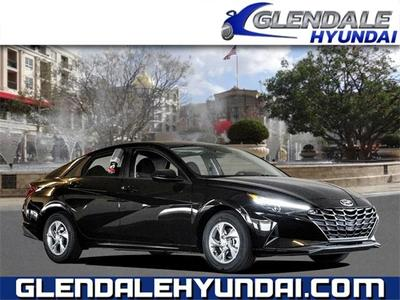 new 2021 Hyundai Elantra car, priced at $21,055