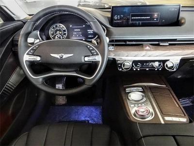 new 2021 Genesis G80 car, priced at $53,920