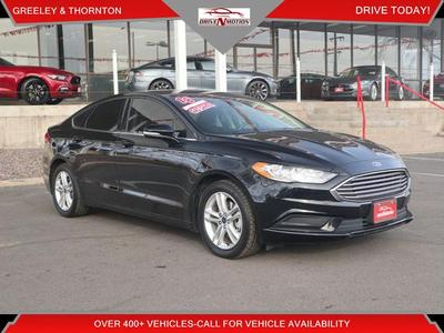 used 2018 Ford Fusion car, priced at $15,495