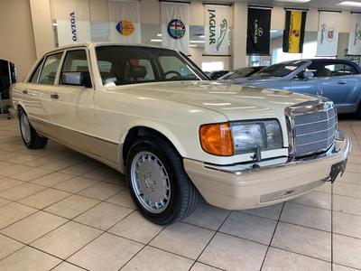 used 1989 Mercedes-Benz S-Class car, priced at $17,995