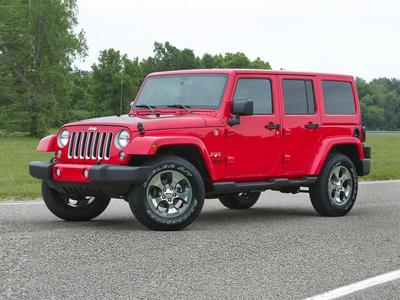 new 2018 Jeep Wrangler JK Unlimited car