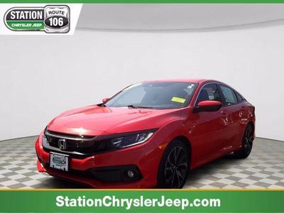 used 2019 Honda Civic car, priced at $20,714