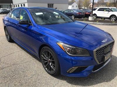 new 2020 Genesis G80 car, priced at $56,997