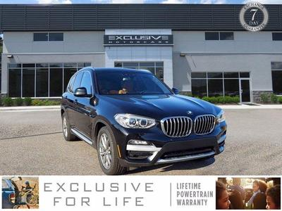 used 2018 BMW X3 car, priced at $34,990