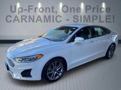 used 2019 Ford Fusion car, priced at $17,999