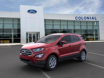 new 2020 Ford EcoSport car, priced at $22,935