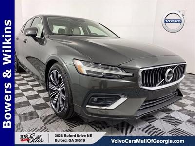 used 2020 Volvo S60 car, priced at $39,000