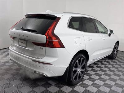 new 2021 Volvo XC60 car, priced at $49,757