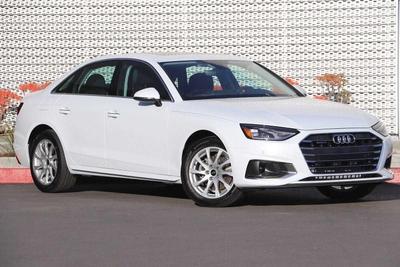 new 2021 Audi A4 car, priced at $42,815